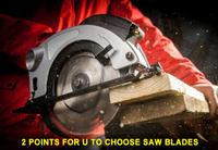 2 Points For U to Choose Saw Blades