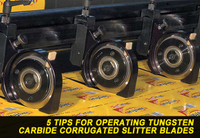 5 Tips For Operating Tungsten Carbide Corrugated Slitter Blades
