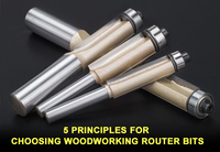 5 Principles for Choosing Woodworking Router Bits