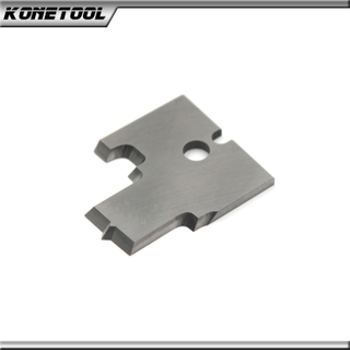 Carbide Groove Profile Cutter Insert