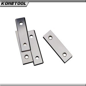 Rectangular Woodworking Carbide Reversible Knives-Two Holes